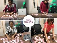 Card Sorting for defining Information Architecture user experience navigation jewellery bluestone ucd ux information architecture card sorting