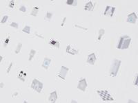 Iconset for energy-saving
