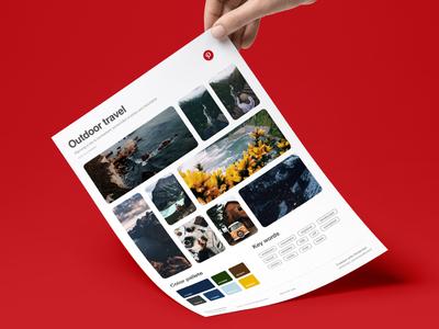 Pinterest MoodBoard   Print