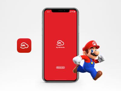My Nintendo   Splash screen and App Icon