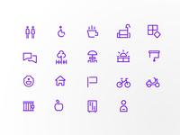 Icons for Casa do Impacto