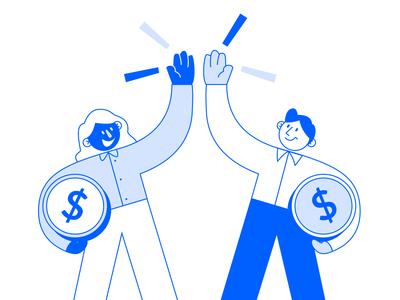 Making money together