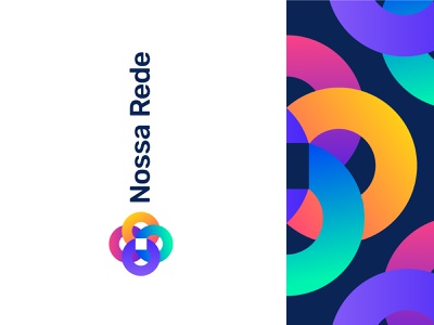 Nossa Base design brand identity symbol icon visual colour logo brand branding