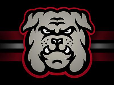 Bulldogs bulldog sports logo