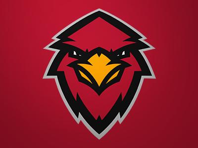 Cardinals cardinals bird sports logo concept
