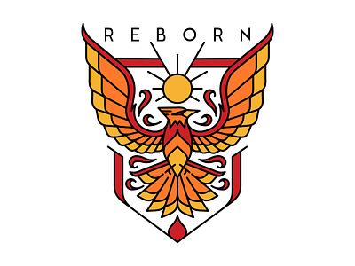 Reborn phoenix art line reborn