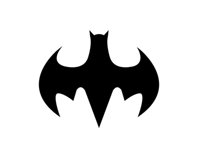 Bat flat illustration vector logo illustrator graphic design design art