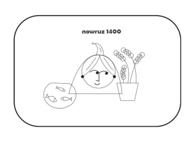 happy nowruz 1400! flat flatdesign app design webdesign 2d artwork vector minimal design artist art illustrations illustration art digitalart photoshop illustration