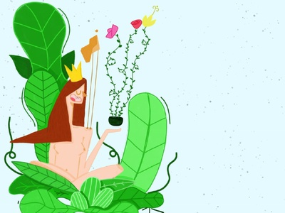 Natural 🌿 illustration art artist art digitalart artwork illustrations photoshop illustration