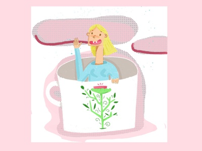 coffee addict :) artist art illustrations photoshop illustration art digitalart illustration