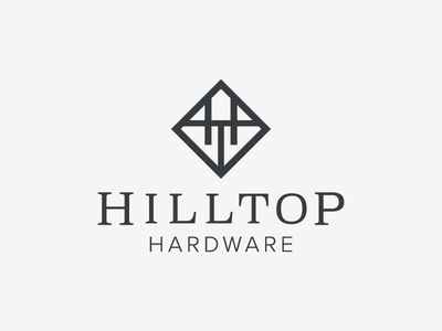 Hilltop Hardware woodworking capentner ht monogram ht logo monogram logo badge hunting badge logo badge design carpentry logo construction hardware logo hardware