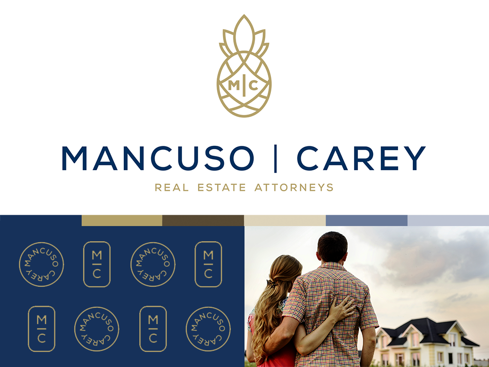 Mancuso | Carey Real Estate Attorneys by Raboin Design Co on Dribbble