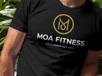 Moa Fitness 2  Shirt Mockup