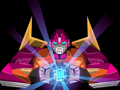 RDC | Hotrod Vector Illustration