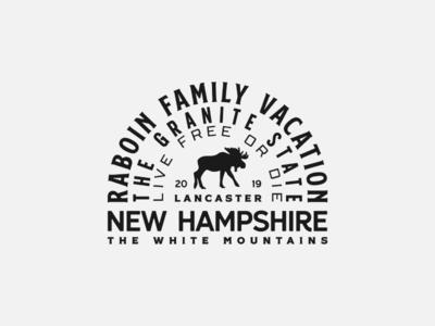 Raboin Family Vacation Badge