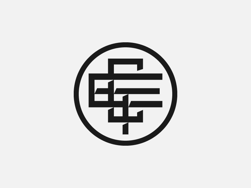 ETC Monogram type vector illustration branding design typography badge hunting identity design identity badgedesign badge graphic design logo design logo branding badge design design badge logo monogram logo etc monogram
