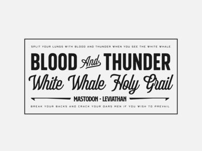 Blood & Thunder Badge Exploration