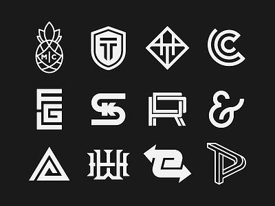 RDC   Logofolio 3 logofolio logotype typography vector lettering type branding design monogram badge hunting identity design identity badgedesign branding badge design badge graphic design design badge logo logo design logo