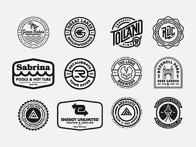 RDC Logofolio 4 | BADGES branding badge hunting badgedesign badge design badge graphic design design badge logo logo logo design badges