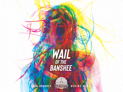 Wail of The Banshee packaging design package design packaging package craft beer branding design beer label beer art beer can beer branding beer badgedesign branding badge design badge graphic design design badge logo logo design logo