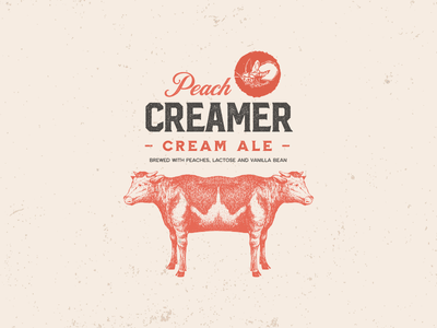 Creamer logo best packaging ale cow craft beer branding branding can thedieline craft beer craftbeer packaging design package design packaging package beer branding beer label beer art beer can beer