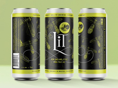 Lit graphicdesign identitydesign branding design branding insect firefly ipa craftbeer packaging design package mockup package design packagedesign packaging packages package beer branding beer label beer art beer can beer