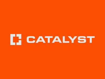 Catalyst Exploration 3 corporate branding corporate design logos logodesign logotype monogram branding design identity branding design graphic design badge logo logo design logo construction company construction logo construction
