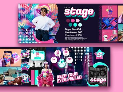 Stage Stylescape brand stylescape userinterface mobile uiux mobile app design uidesign ui branding app design