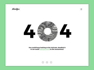 Daily UI #008 : 404 creative minimal color simple design web website dailyui100 dailyui ui error 404