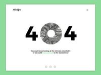 Daily UI #008 : 404