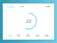 Daily UI #021 : Home Monitoring Dashboard