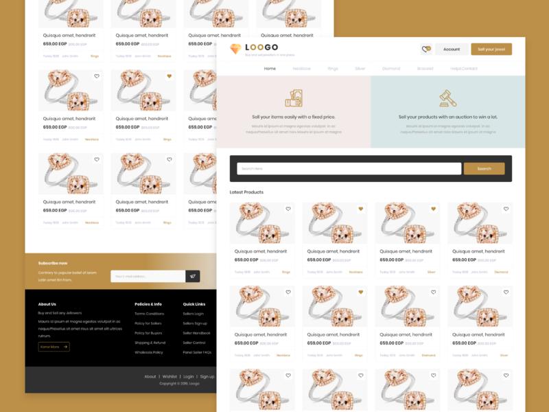 Jeweler E-Commerce Website