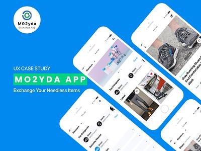 Mo2yda App UX Case Study ux case study case study casestudy app android ios ui design design ui ux