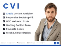Cvi | Responsive vCard / Resume / CV Template