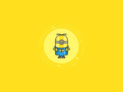 My Stuart Minion minion stuart yellow movie character cartoon animation illustration minion stuart minions