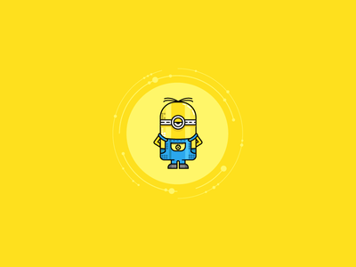 My Stuart Minion minion stuart yellow movie character cartoon animation illustration minion stuart minions