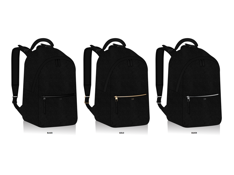 ISM Backpacks leather backpack leather goods leather hardware minimalist design backpack design industrial design product design minimalism minimalist backpack