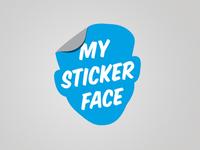 My Sticker Face