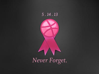 Always Remember lol 2013 serif icon ribbon basketball remember dribbble sad crash may adam trageser server lost shot memorial funny pink