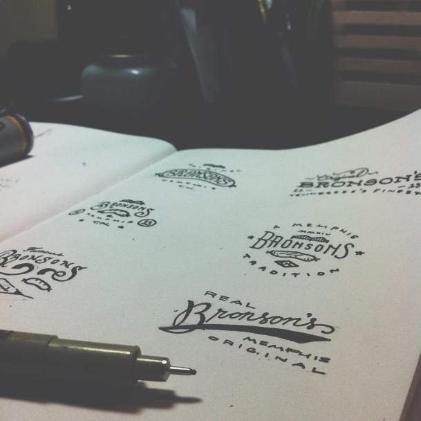 Bronson sketches