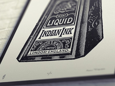 Indian Ink Print