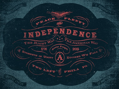 Peace, Plenty, and Independence label packaging lettering illustration american old branding vintage type hand done typography victorian