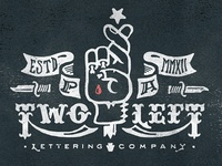 Two Left Lettering Co