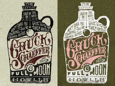 Whisky Label jug vintage hand western band typography texture keystone pennsylvania ampersand illustration whisky bottle lettering country moon type hand done pa grunge old two left two-left adam trageser