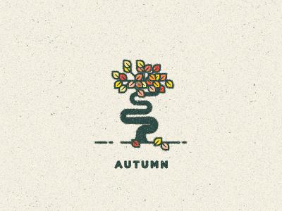 Autumn leaves vector texture two left maple icon illustration fall season autumn tree logo two-left nature woods type adam trageser
