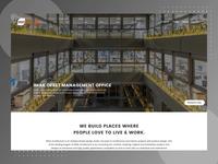 Edda Architecture - Website Design design architect uiux architecture website ui design architecture ui