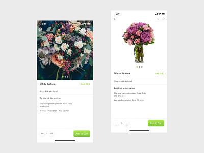 Mersal Flower Delivery App mobile app marketplace delivery delivery app mobile ux uiux design ui