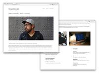 My Portfolio About Page