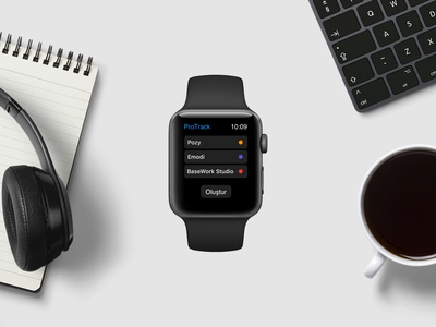 Time Tracking Tool Apple Watch