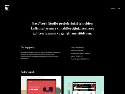 Basework Studio - HomePage